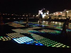 Solar light show of Zadar