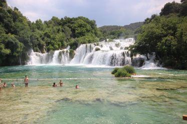 The falls of Krka
