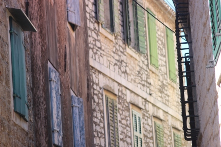 Stari Grad laneways.