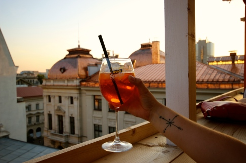 Cheers to you, Bucharest.
